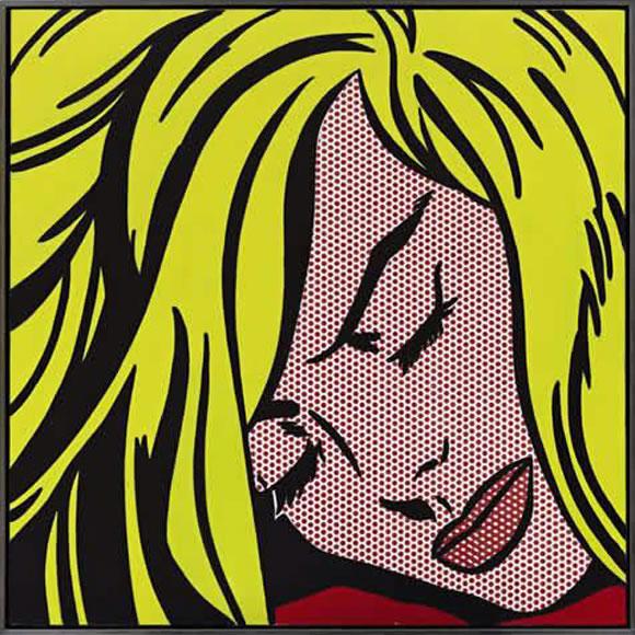 Chica durmiendo - Roy Lichtenstein (1964)