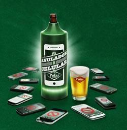 Anulador de móviles para quedadas con amigos - Cerveza Polar