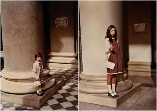 "Proyecto fotográfico ""Back to the Future"", de Irina Werning - Fotografía: Lali, 1978 - 2010 (Buenos Aires)"