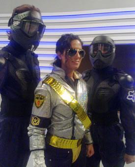 Bea Jackson - Tributo a Michael Jackson en Albal (Valencia)