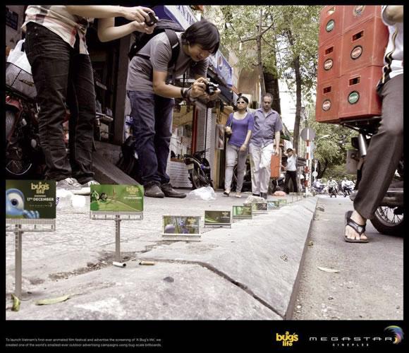 """""""Bichos"""" en Vietnam - Campaña de Street Marketing"""