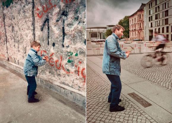 Christoph - 1990 vs. 2011 - Berlin Wall (Back to the future II - Irina Werning)