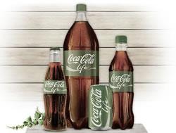 Coca-Cola Life - Etiqueta verde