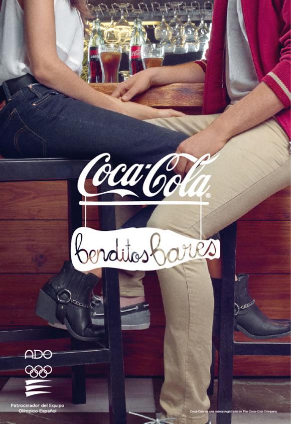 """Coca-cola y su campaña de publicidad """"Benditos bares"""""""