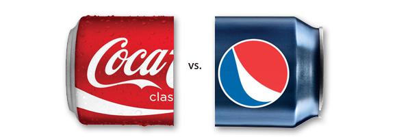 Coca-cola vs Pepsi - Duelo publicitario