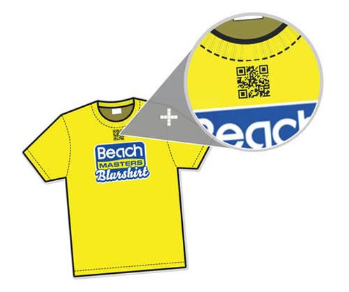 Código bidi de la Beachmasters Blurshirt