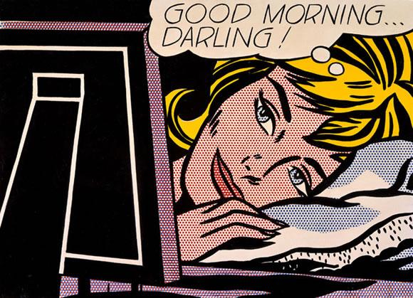 Good morning darling - Roy Lichtenstein (1964)