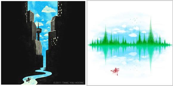 Ilustraciones de Tang Yau Hoong.