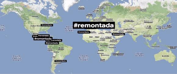 Mapa del hashtag #remontada del Diario Sport - De la Almohadilla al #hashtag, el símbolo más social