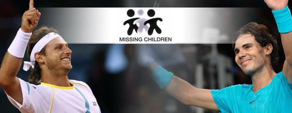 Nalbandian vs Nadal - Gran idea para denunciar el robo de niños en Argentina