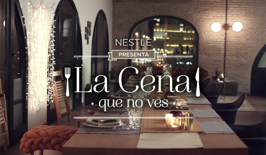 Nestlé lanza su campaña de Navidad La cena que no ves