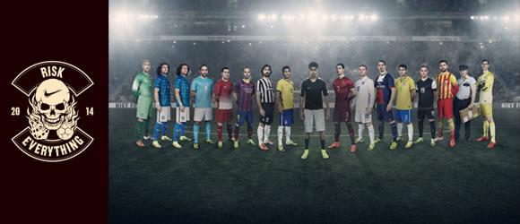 Spot Nike: Arriésgalo todo - Mundial 2014
