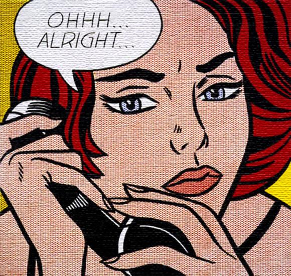 Ohhh... Alright... - Roy Lichtenstein (1964)