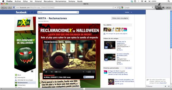 La Sandia y sus ReclamacioneX - Pantallazo Redes Sociales (Facebook)