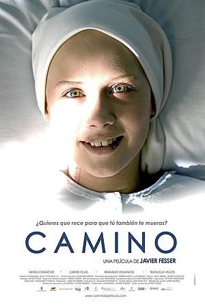 """Portada de la película """"Camino"""" de Javier Fresser"""