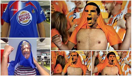 Publicidad en camisetas de fútbol