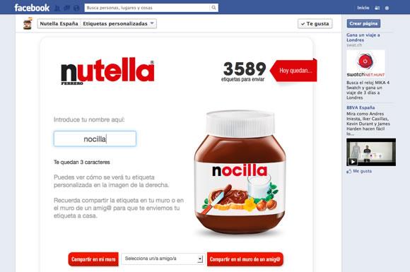 """Campaña """"Nombres"""" de Nutella - Prefieren Nocilla"""