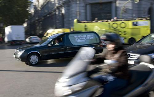 """Acción publicitaria de street marketing para MTV y su programa """"Ahora o Nunca"""""""