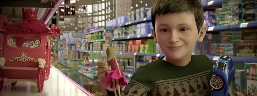 Cortometraje de AUDI contra los estereotipos en los juguetes