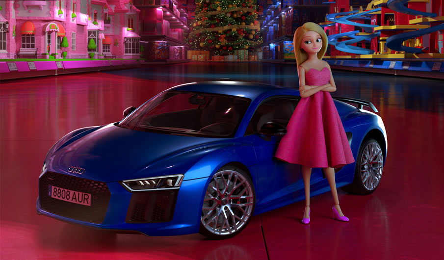 Spot-Cortometraje de AUDI contra estereotipos en los juguetes