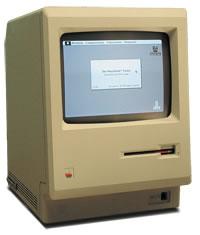 Steve Jobs presenta el primer Macintosh 128k en Enero de 1984