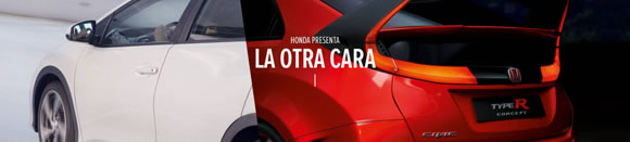 Técnica de doble vídeo en YouTube para Honda Civic Type R