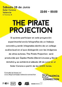 The Pirate Projection - P2P Valencia Connection 2014 en el Círculo de Bellas Artes de Valencia - PhotoEspaña 2014