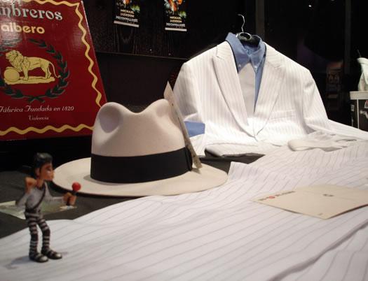 """Traje y sombrero mítico del clip """"Smooth criminal"""""""